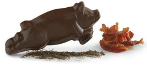 Vosges Flying Pig Bacon Chocolate