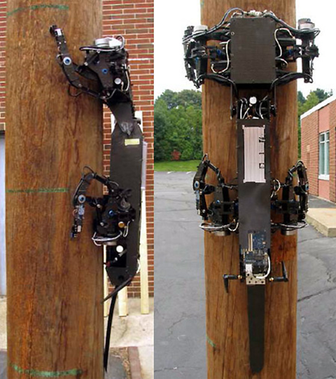 Boston Dynamics Pole Climbing Robot