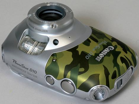Camo Canon D10