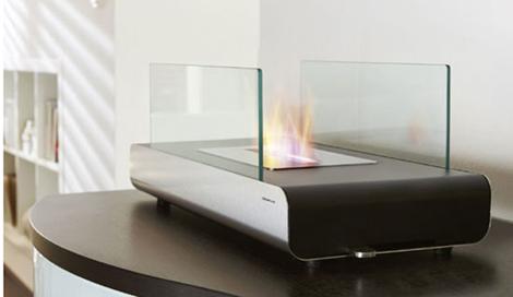 Vidro Fireplace