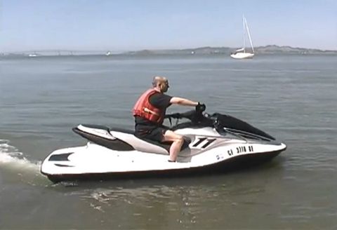 Eco Watercraft Electric Waverunner