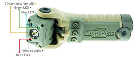 Energizer Hard Case LED Flashlight