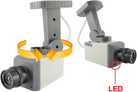 Motion Sensing Fake Security Camera