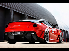 Ferrari 599XX Rear
