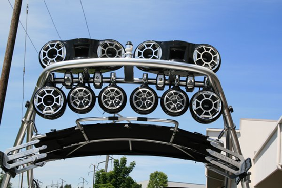 Boat Tower Speakers