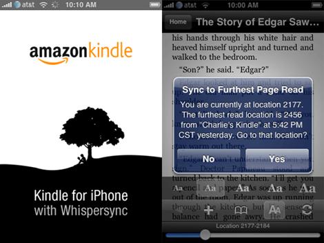 iphone Kindle
