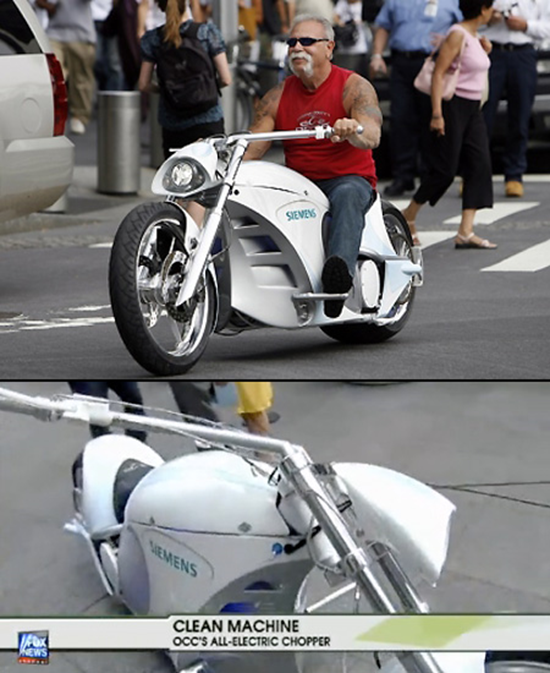 OCC Siemens Electric Motorcycle Chopper