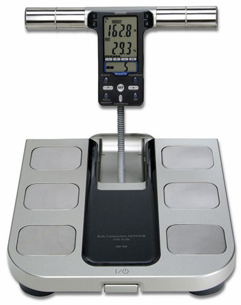 HBF-500 body fat scale