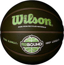 Wilson Rebound Recycled Basketball