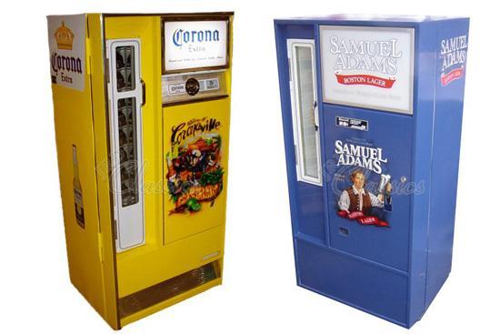 Retro Beer Vending Machines By Jrd Classics Gadgetking Com