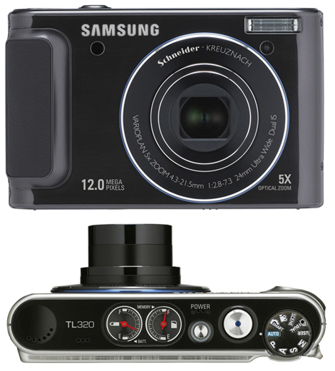 Samsung TL320 Analog Gauge Camera