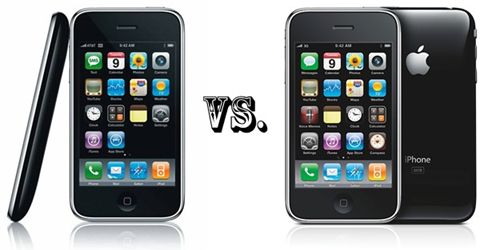 iPhone 3G vs 3G S