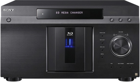BluRay disk changer