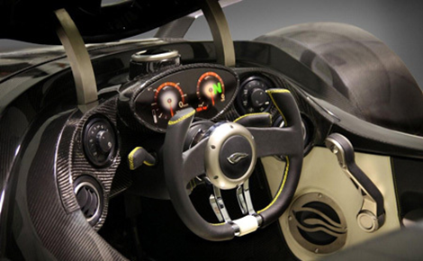 Tramontana Cockpit