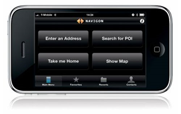 Navigon iphone