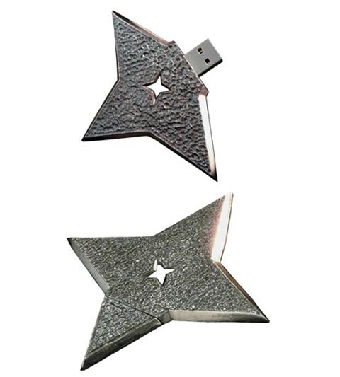 usb ninja throwing star
