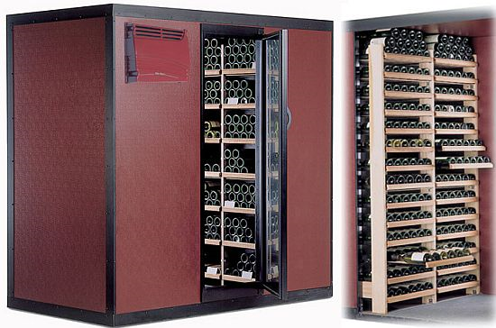 Walk In Wine Cellars By Vintec