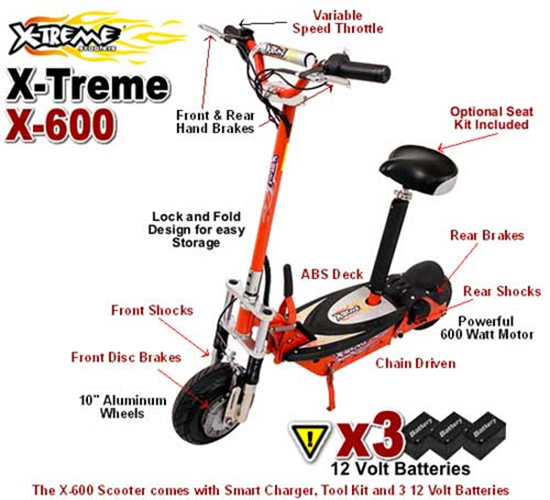 X-600 Electric Scooter