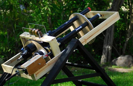 Potato Gatling Machine Gun