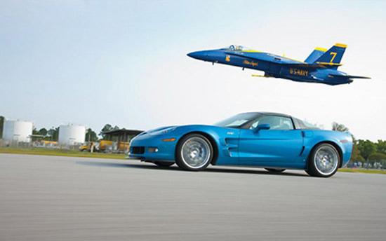 Corvette vs FA-18 Fighter Jet