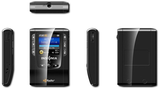 Insignia NS-HD01 Portable HD Radio
