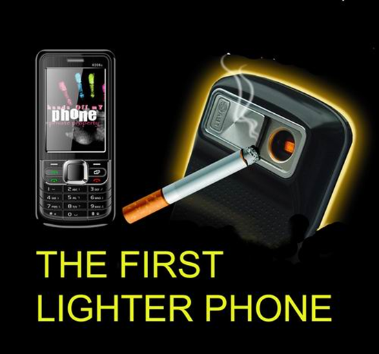 Seabright lighter phone