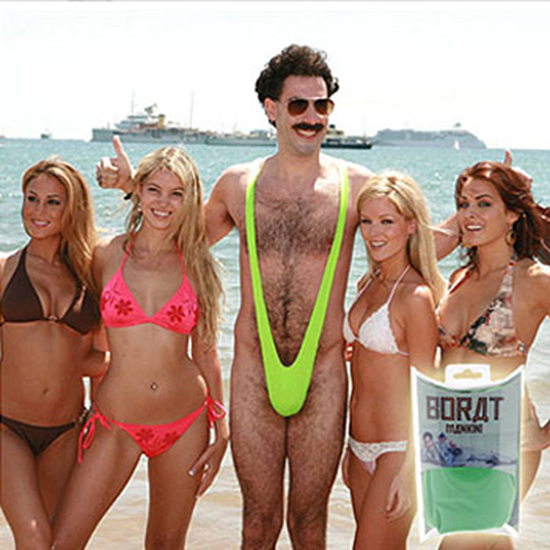Borat Mankini Kit Costume
