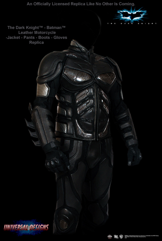Batman Dark Knight Riding Leathers