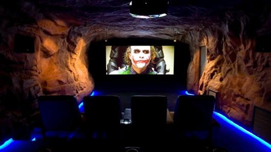 bat cave theater in his melbourne basement read on for details