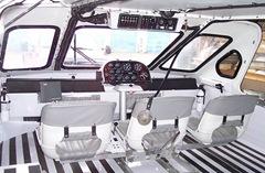 Canair Hovercraft cockpit