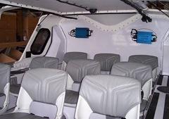 Canair Hovercraft interior