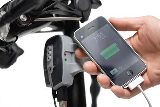 BioLogice FreeCharge Bike iPod iPhone Charger