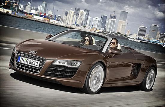 Audi R8 Spyder Convertible