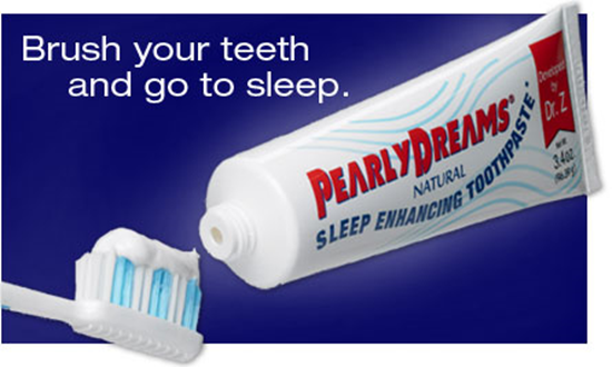 PearlyDreams Sleeping Toothpaste