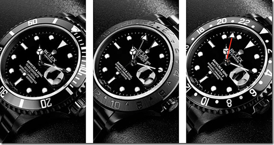 Bamford Black Rolex