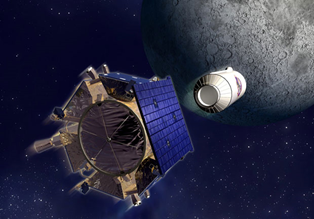 NASA crashes in to moon