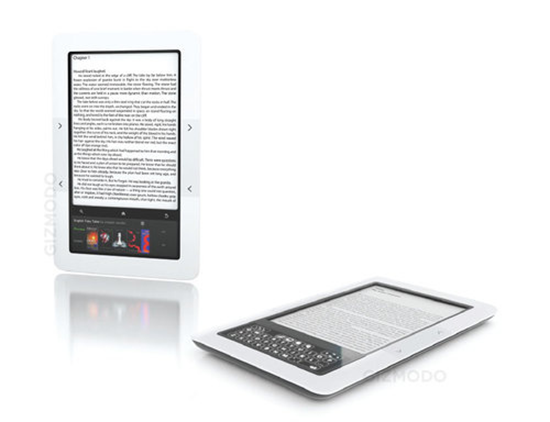 Barnes & Noble Color e-book reader