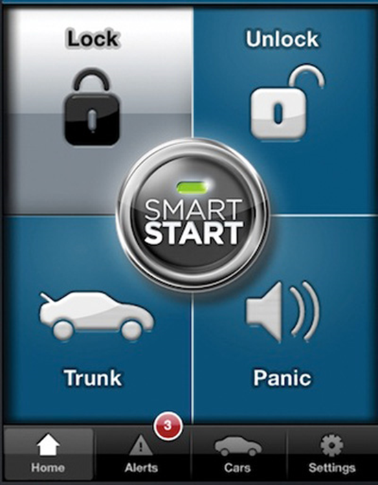 Viper StartSmart iPhone Car Starter
