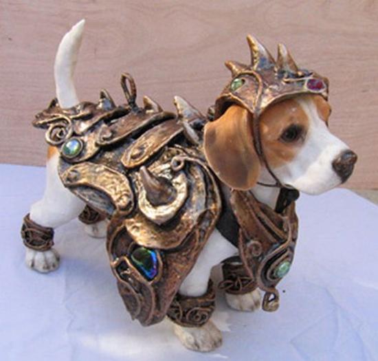 Battle Dog Costume