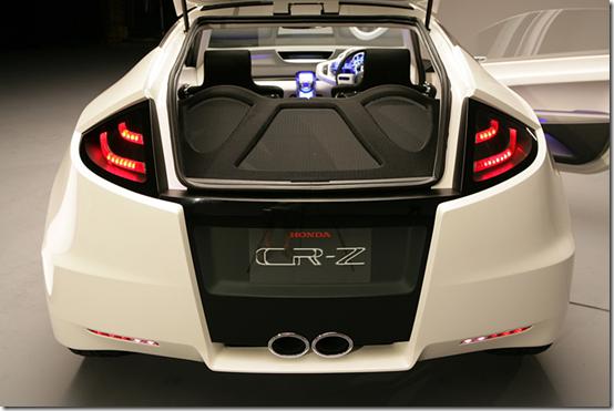 Honda CR-Z Rear