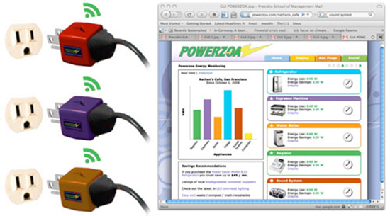 Powerzoa Internet Connected Outlet Adapters