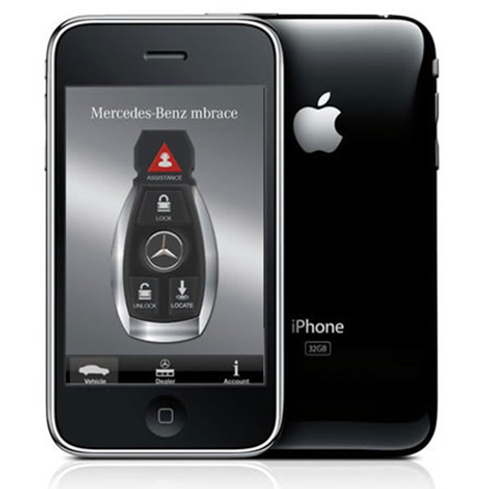 Mercedes iPhone Ap