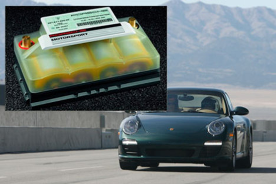 Lithium Ion Porsche Battery