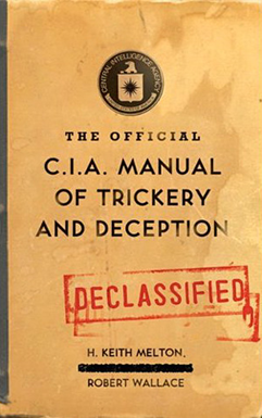 CIA Manual Of Trickery And Deception Book