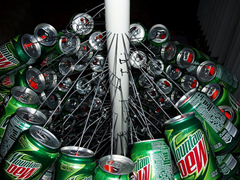 Coke Can Christmas Tree