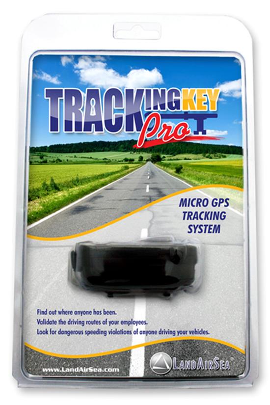 Tracking Key Pro Retail Packaging