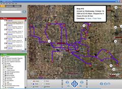 LandAirSea GPS