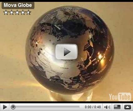 Mova Globe Magic Solar Powered Rotating Earth Globe