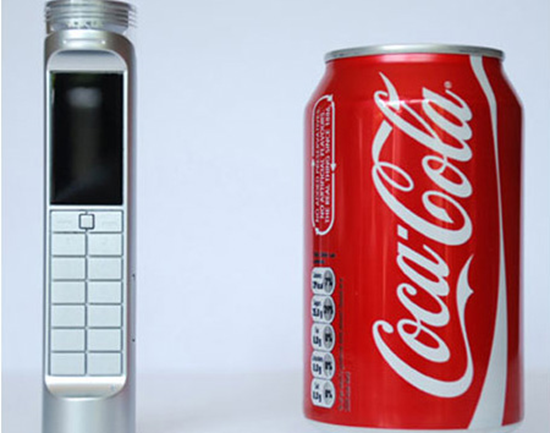 Coke powered cell phone