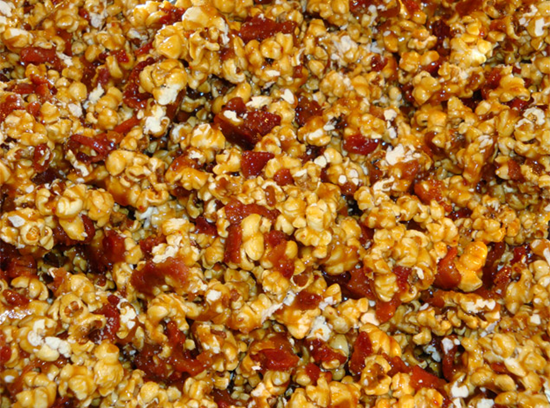 Bacon Bourbon Caramel Corn